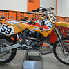 1997 KTM 540SX, The first fourstroke ever to qualify for a Supercross Main event.